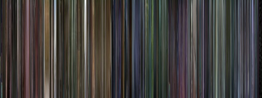 Movie Barcode - Requiem for a Dream